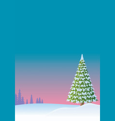Winter background 2 vector