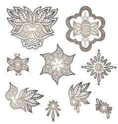 Indian elements for design vector