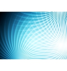 Abstract bright blue background vector image vector image