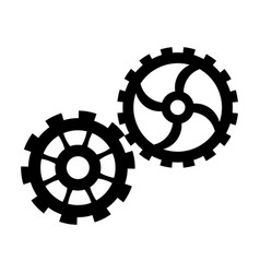 Gears team work cooperation wheels cogs vector