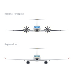 Jet and regional turboprop vector