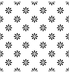 Circle loading 23 percent pattern simple style vector