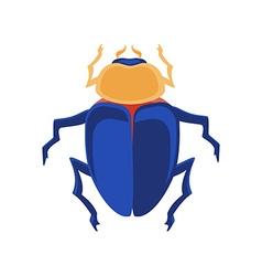 Egyptian scarab vector image vector image
