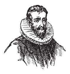 Henry hudson vintage vector