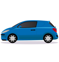 Van car body type vector
