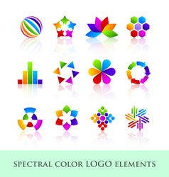 Logo design elements vector