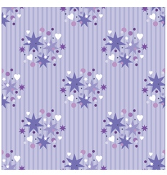 seamless violet pattern vector image