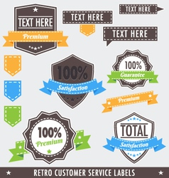 Retrocustomerlabels vector