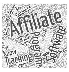 Affiliate tracking software the importance of vector