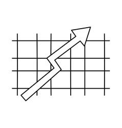 Arrow over grid vector
