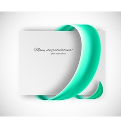 Business card vector image vector image