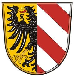 Nurnberg coat of arms vector