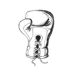 Glove icon boxing design graphic vector