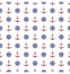 Nautical background pattern vector