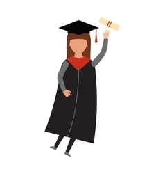Graduation education people successful vector