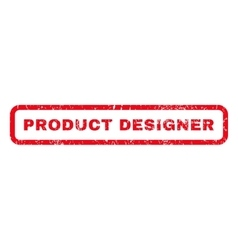 Product designer rubber stamp vector