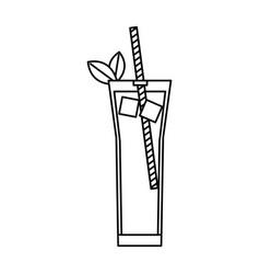 Alcoholic drink cocktail beverage bar liquor vector