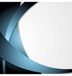 Modern abstract design vector image
