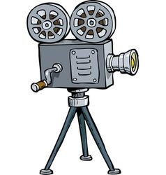 Old projector vector