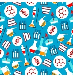 Science and research seamless pattern vector