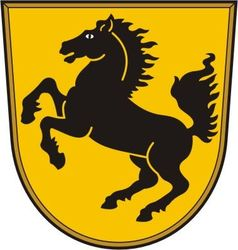 Stuttgart coat of arms vector