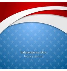 Abstract independence day background vector