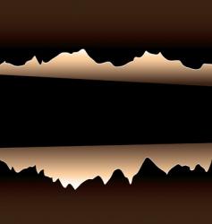 brown rip vector image vector image