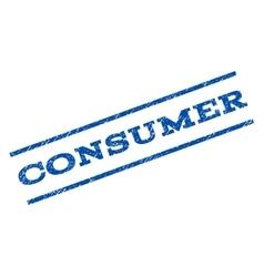 Consumer watermark stamp vector