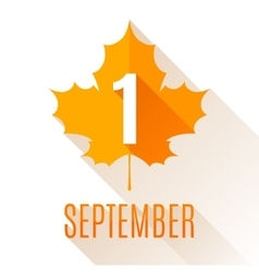 First September Background vector image vector image