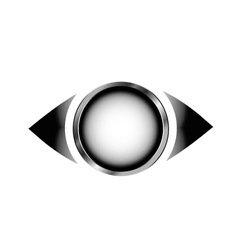 3d vision logo vector image