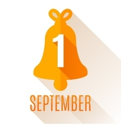 First september background vector