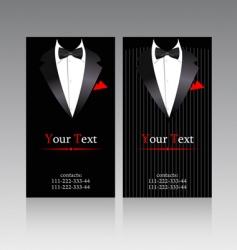 elegant suits vector image