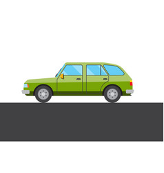 Green car picture vector