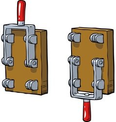 old switch vector image vector image