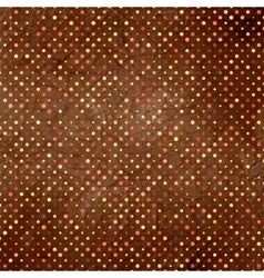 Polka dots pattern background vector image vector image