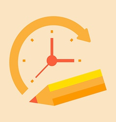 Time notes vector