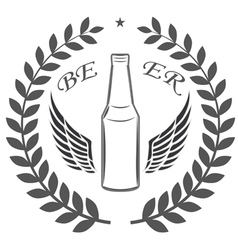 beer quality vector image vector image
