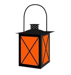 Gas lantern vector