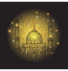 Islamic holiday Ramadan vector image