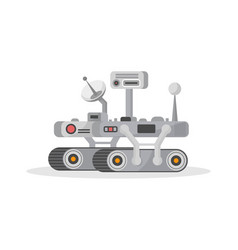 Mars rover isolated icon vector