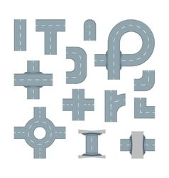 Road element set vector