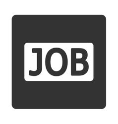 Job icon vector