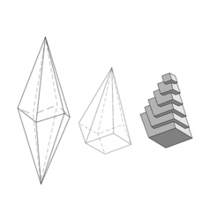 The initial idea of the internal structure of the vector image