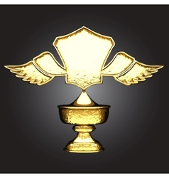 Golden award vector