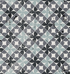 Old style tiles seamless background pattern design vector