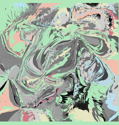 abstract artistic background with marbling vector image vector image