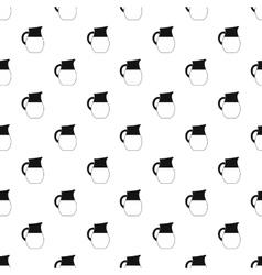 Jug of milk pattern simple style vector