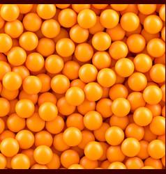Orange balls background vector