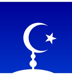 Symbol of islam vector