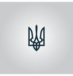 Trident icon vector